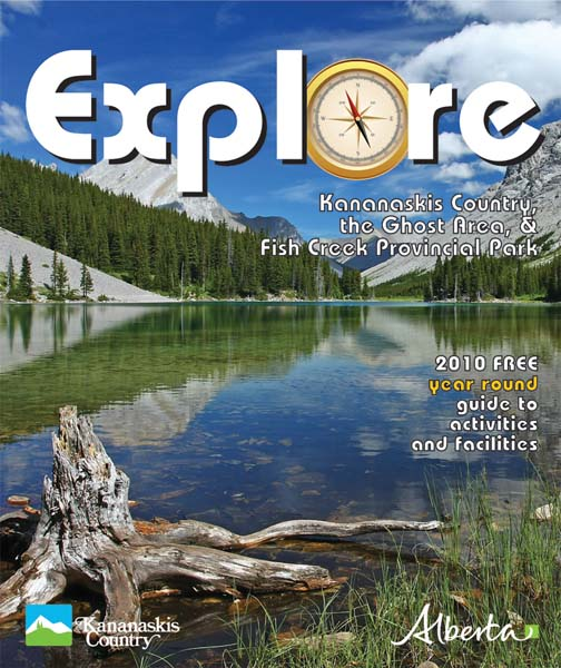 Explore Kananaskis and Ghost Area 2010 cover